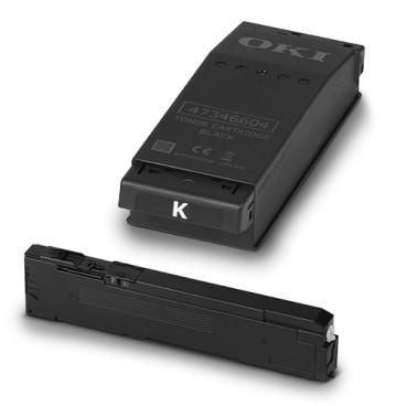 C650dn 블랙토너(BLACK Toner)(7K)YA8001-1088G036 +폐토너박스(Toner Disposal) (16K)
